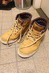 ティンバーランドのブーツ