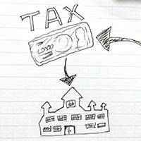 個人事業主の支払う税金について