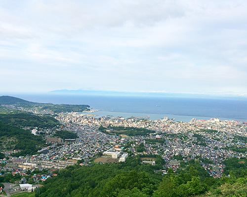 天狗山から見える風景