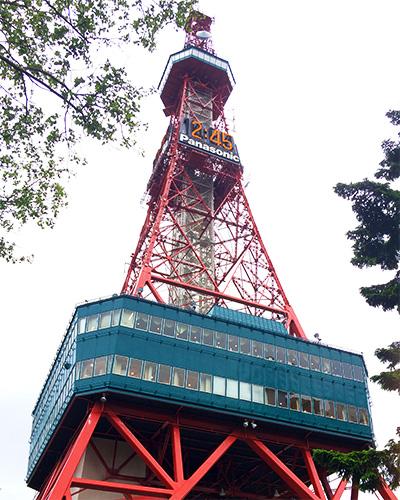 かの有名な札幌テレビ塔