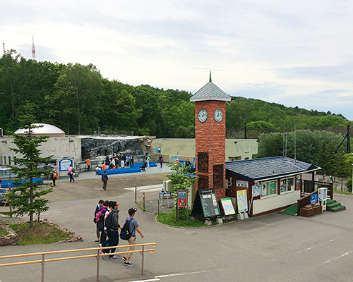 旭川動物園の風景