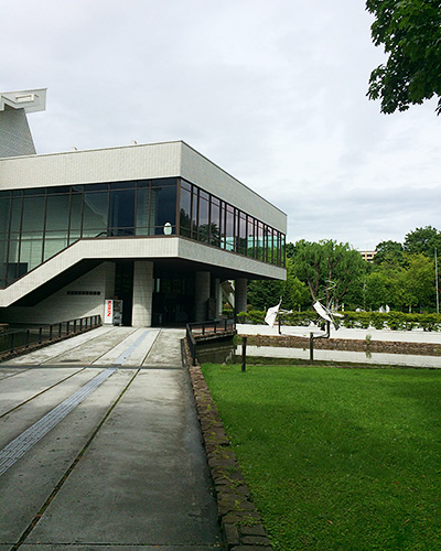 北海道立近代美術館の外観