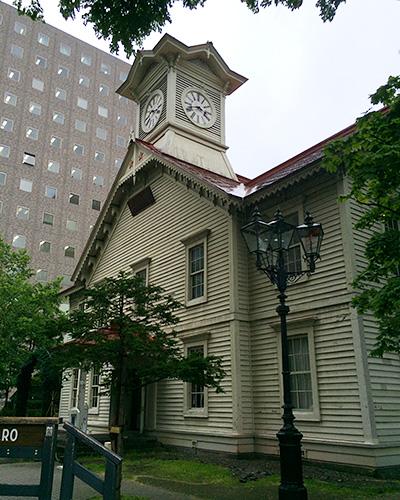 札幌市で有名な時計台