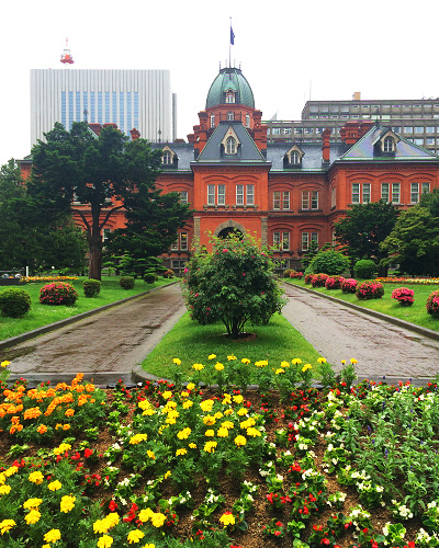 旧本庁舎の外観