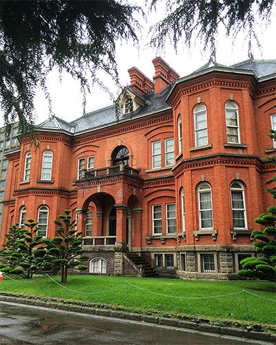 旧本庁舎の外観。その2