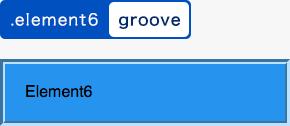 groove指定例