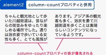 column-countと併用した例