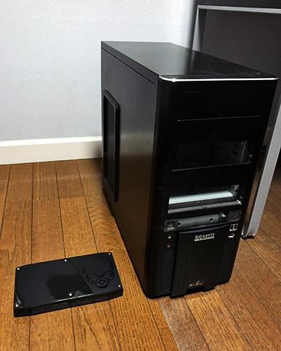 以前のPCとサイズ比較