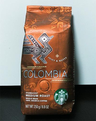 コロンビアのパッケージ