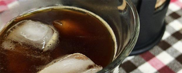 プレスでアイスコーヒーを淹れてみた