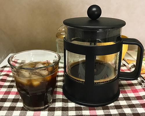 アイスコーヒー完成