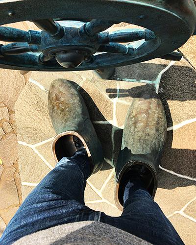 靴を履いたままぶーつを履ける