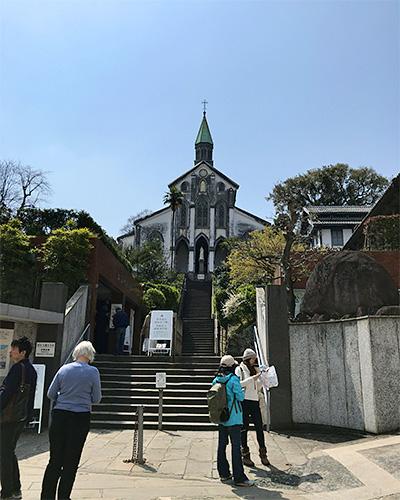 大浦天主堂の正面入り口
