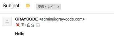 正常に受診することができたメール