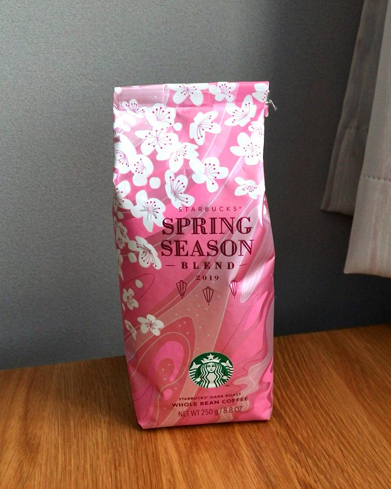 春らしい桜のパッケージ
